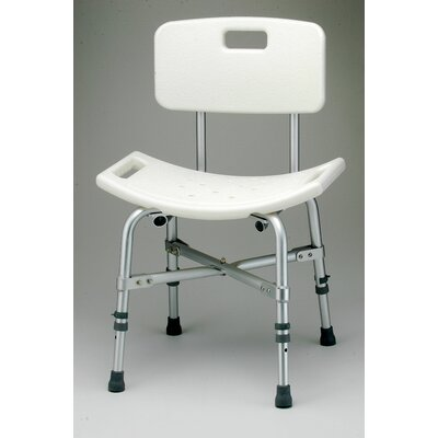 Nova Ortho-Med, Inc. Bariatric Bath Bench with Back