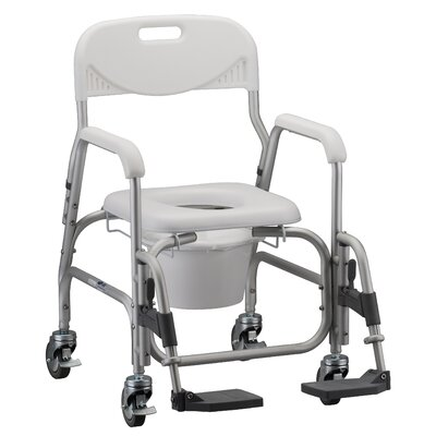 Nova Ortho-Med, Inc. Bathroom 365 Deluxe Shower Chair and Commode