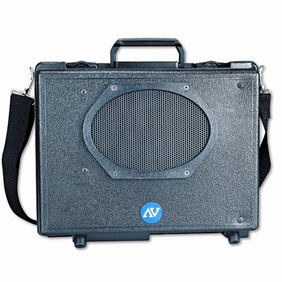 AmpliVox Sound Systems Audio Portable Buddy with Wired Mic Professional 50 Watt PA System