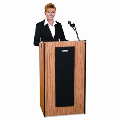 AmpliVox Sound Systems Adjustable Presidential Plus Full Podium