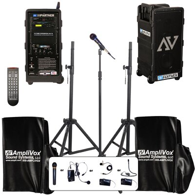 AmpliVox Sound Systems Premium Digital Audio Travel Partner Package