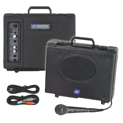 AmpliVox Sound Systems Audio Portable Buddy 50 Watt PA System