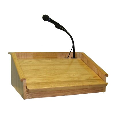 AmpliVox Sound Systems Victoria Tabletop Lectern