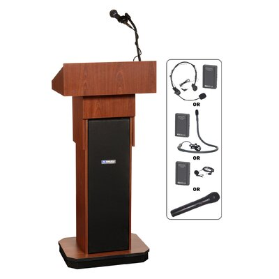 AmpliVox Sound Systems Executive Sound Column Full Podium