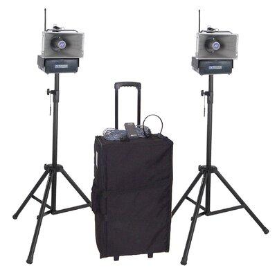 AmpliVox Sound Systems Deluxe Half-Mile 60 Watt Hailer