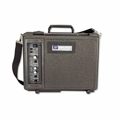 AmpliVox Sound Systems Audio Portable Buddy Professional PA System w/Pro Wired Mic & 15-ft. Cable
