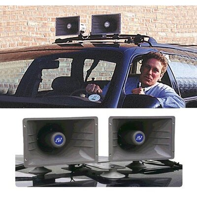 AmpliVox Sound Systems Wireless Sound Cruiser