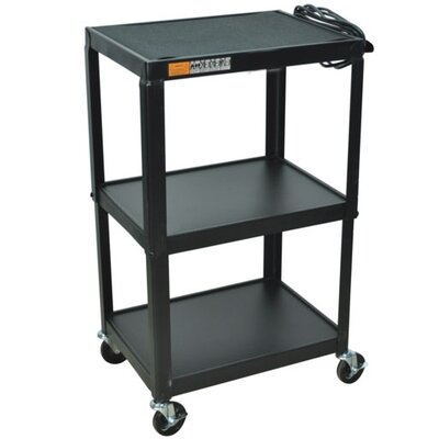 AmpliVox Sound Systems Industrial Cart