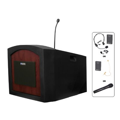 AmpliVox Sound Systems Pinnacle Tabletop Lectern