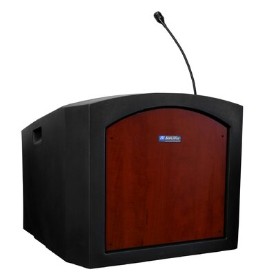 AmpliVox Sound Systems Pinnacle Tabletop Standard Sound Lectern