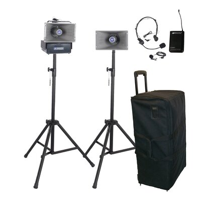 AmpliVox Sound Systems Wireless Hailer Kit