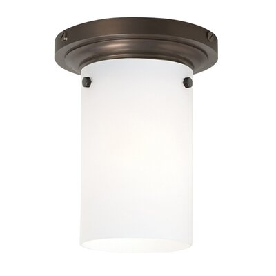 Wilmette Clark 1 Light Flush Mount