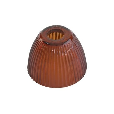 "T Trak 3.3"" Glass Bell Lamp Shade"