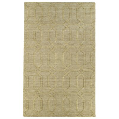 Kaleen Imprints Modern Yellow Geometric Rug