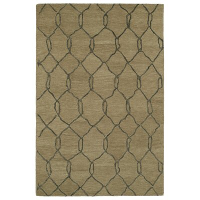 Casablanca Brown Geomatric Rug