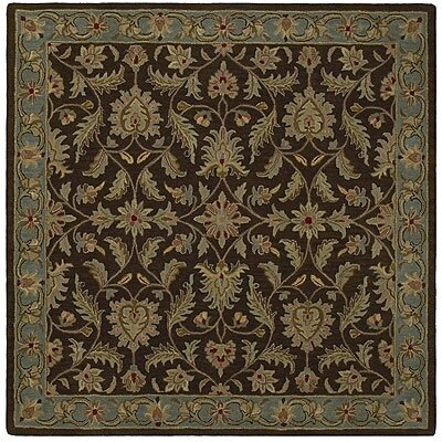 Kaleen Rug Co. Tara Squared St. Vincent Chocolate Rug