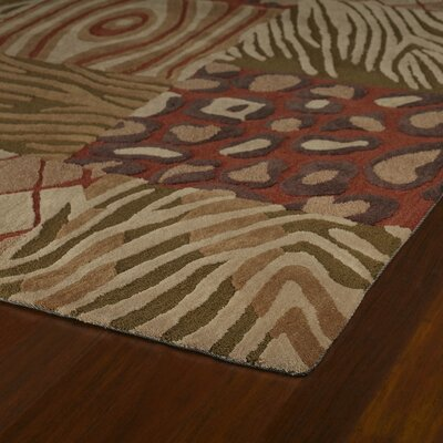 Kaleen Rug Co. Crowne 17 Tutor Brown Rug