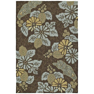 Kaleen Home & Porch Morning Glory Robins Egg Rug