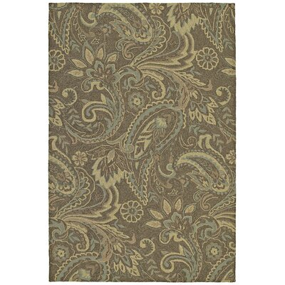 Kaleen Home & Porch Rivers End Mocha Rug