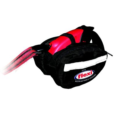 Flexi Dog Leash Saddle Bag