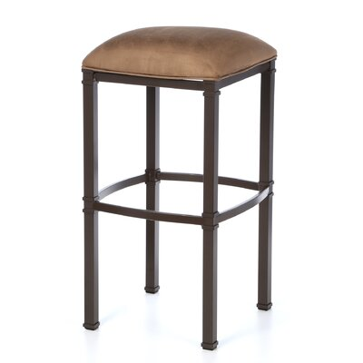 "Hallmark 34"" Bar Stool with Cushion"