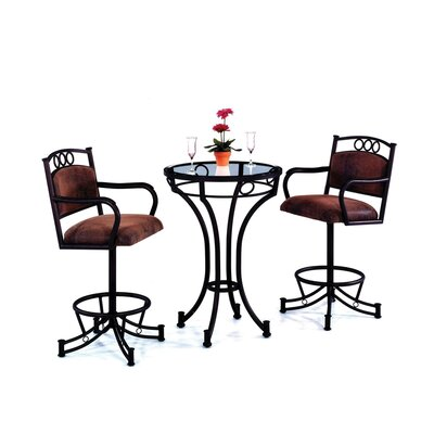 Tempo Winslow Wide Counter Height Pub Set