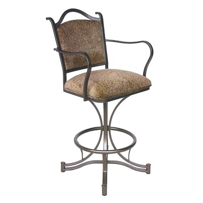 "Tempo Cambridge 30"" Swivel Stool w/ Arms"