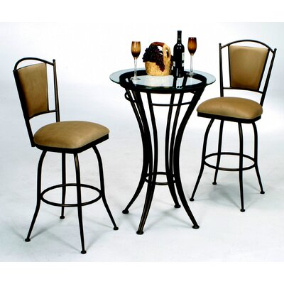 "Tempo David 30"" Swivel Bar Stool"