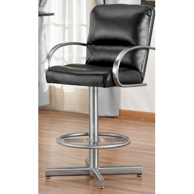 "Tempo Dallas 26"" Swivel Barstool"