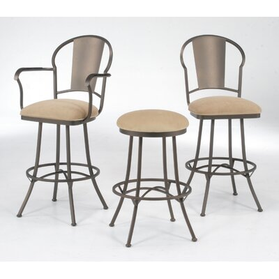 "Tempo Chaucer 30"" Bar Stool with Cushion"