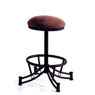 "Tempo Winslow Wide 30"" Backless Swivel Stool"