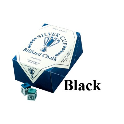 Silver Cup Box of 12 Pieces Chalk