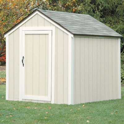 2x4 basics peak roof shed kit reviews wayfair - Garden sheds michigan ...