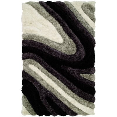 Harounian Rugs International Dune Grey/Black Rug