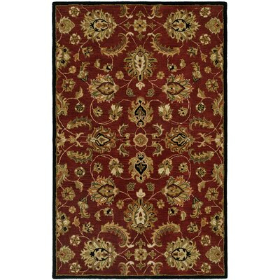 Harounian Rugs International Pars Kashan Burgundy Rug