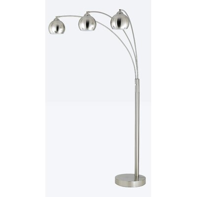 Cal Lighting 3 Light Arc Floor Lamp
