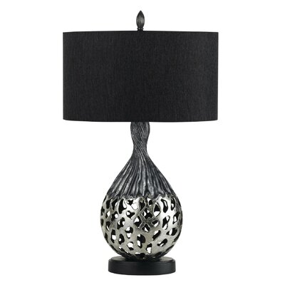 "Cal Lighting Tortona 30.5"" H Table Lamp with Oval Shade"