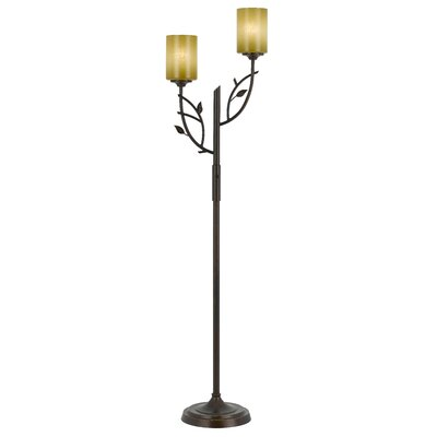 Cal Lighting Hana Iron Floor Lamp