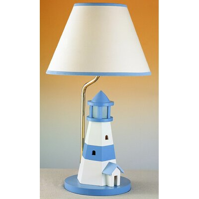 Cal Lighting Juvenile Lighthouse Table Lamp with Night Light