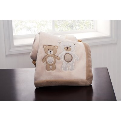 Carter's Baby Bear Boa Blanket