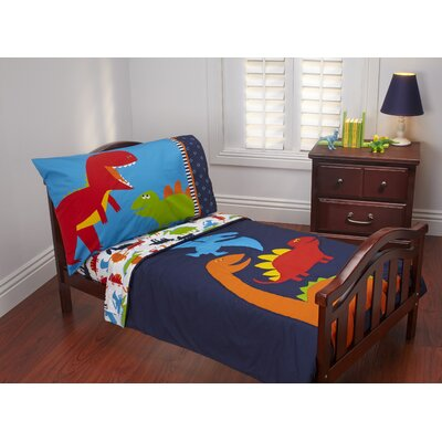 Carter's® Prehistoric Pals 4 Piece Toddler Bedding Set