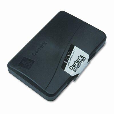 Carter's® Felt Stamp Pad, 4.25w x 2.75d, Uninked