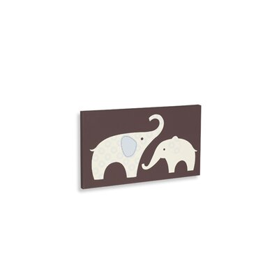Carter's® Blue Elephant Wall Art