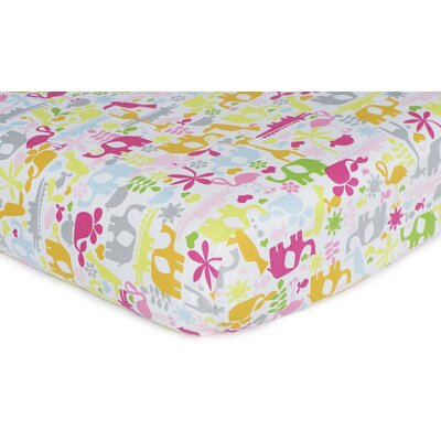 Carter's Safari Brights Fitted Sheet