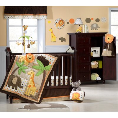 Carter's Sunny Safari Crib Bedding Collection