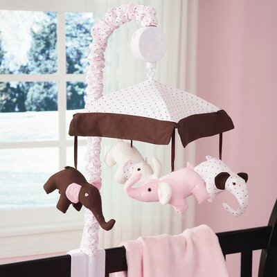 Carter's® Pink Elephant Musical Mobile