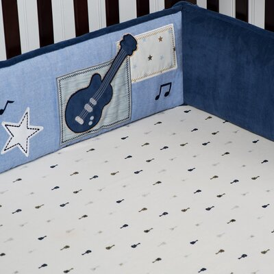 Carter's Monkey Rockstar All Around Bumper