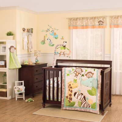 Jungle Play Crib Bedding Collection