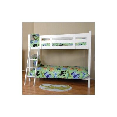 Comfort Decor Color Box Twin over Twin Bunk Bed