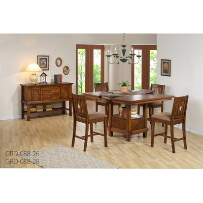Comfort Decor Urban Counter Height Dining Table